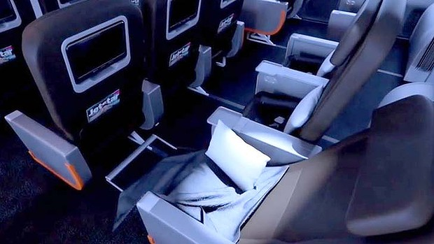 Jetstar Business Class on the Dreamliner