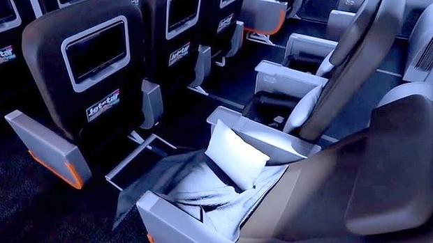 Jetstar Business Class on the Dreamliner