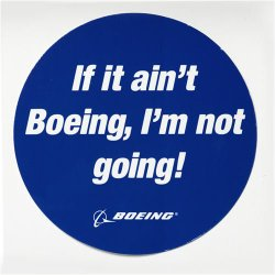 If it ain't Boeing, I'm not Going logo