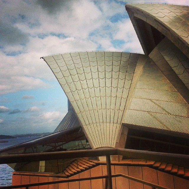 The Sydney Opera House up close