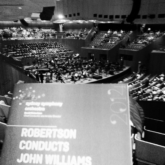 John Williams conducted by David Robertson at the Sydney Opera House