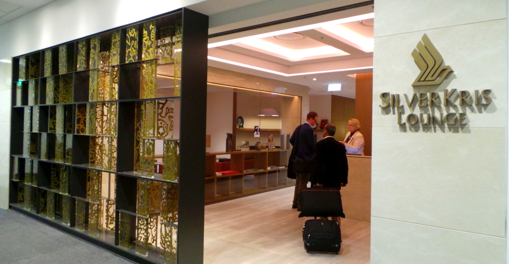 Singapore Airlines KrisFlyer Lounge in Sydney