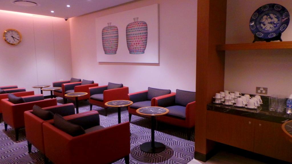 SilverKris lounge in Sydney