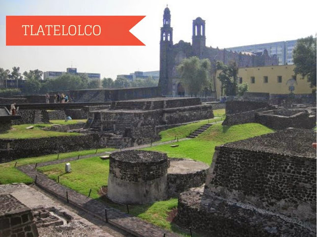 Tlatelolco Ruins in Mexico City