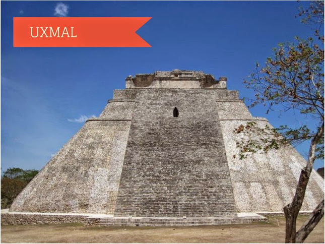 Pyramid of the Magician. Uxmal, Mexico