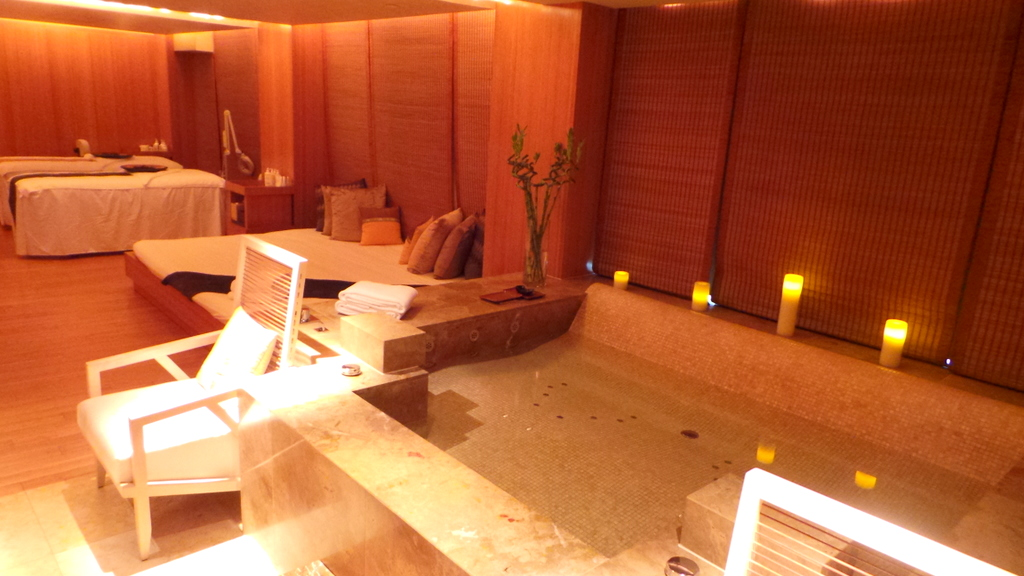 VIP Treatment rooms at the Oriental Spa. The Landmark Mandarin Oriental