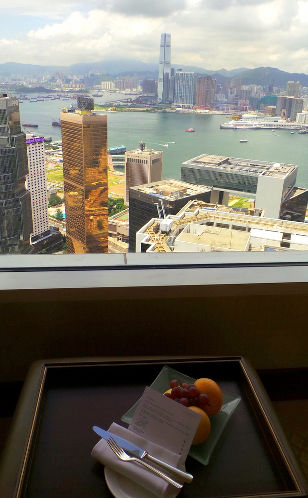 Welcome Amenity, the Conrad Hong Kong