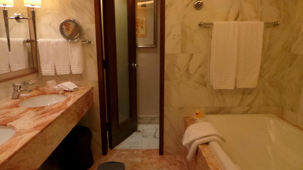 Bathroom at The Conrad Hong Kong