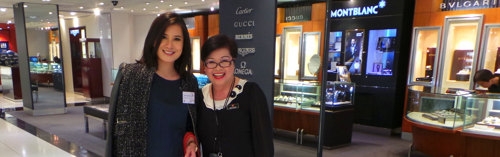 with Sansan, DFS Sydney's regal lady