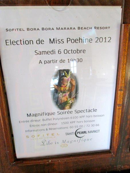 Miss Poehine Tahiti 2012
