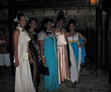 Contestants of Miss Poehine 2012