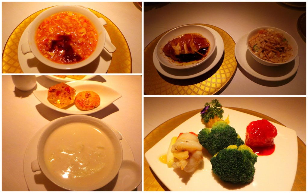 Michelin Set Menu, Golden Leaf Restaurant, Conrad Hong Kong