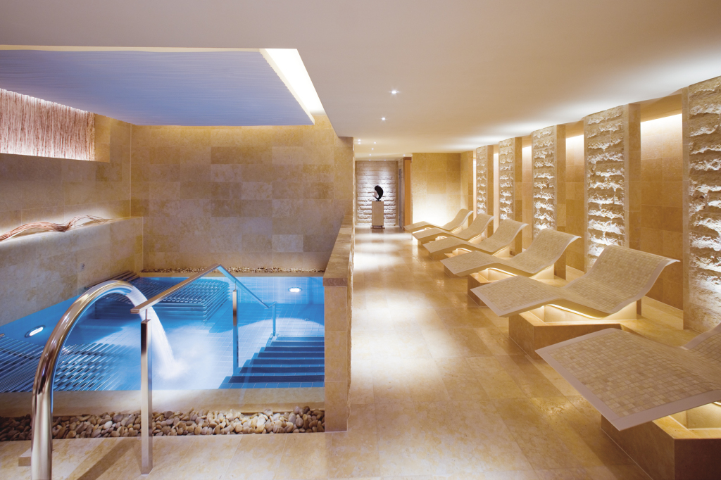 Heat and Water Facilities at The Oriental Spa. The Landmark Mandarin Oriental