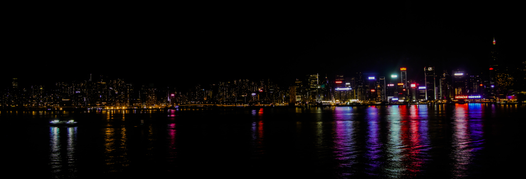 the view from our room that says it all...Kowloon Shangri-la.