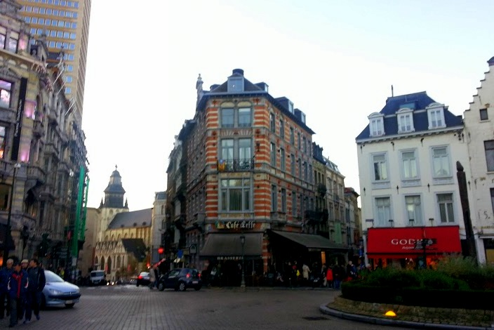 Cafes in Central Brussels