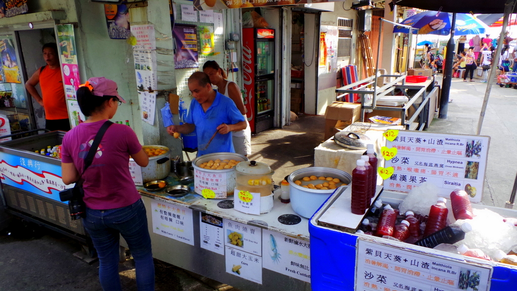 Healthy Street food- Tai O Fishing Village
