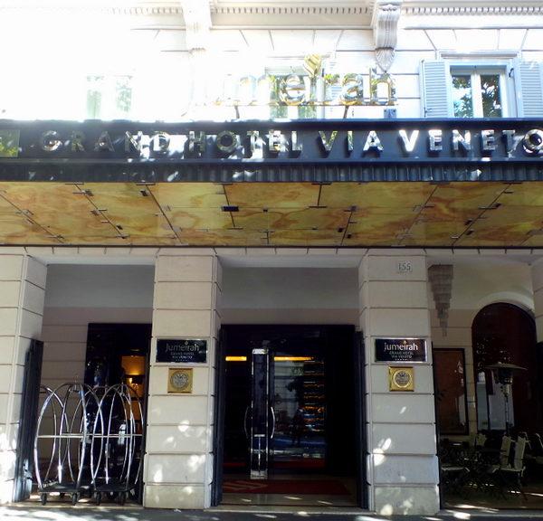 Hotel Review: Jumeirah Grand Hotel Via Veneto, ROME