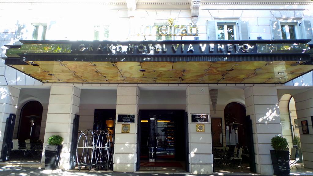 Front of Hotel: Jumeirah Grand Hotel Via Veneto Rome