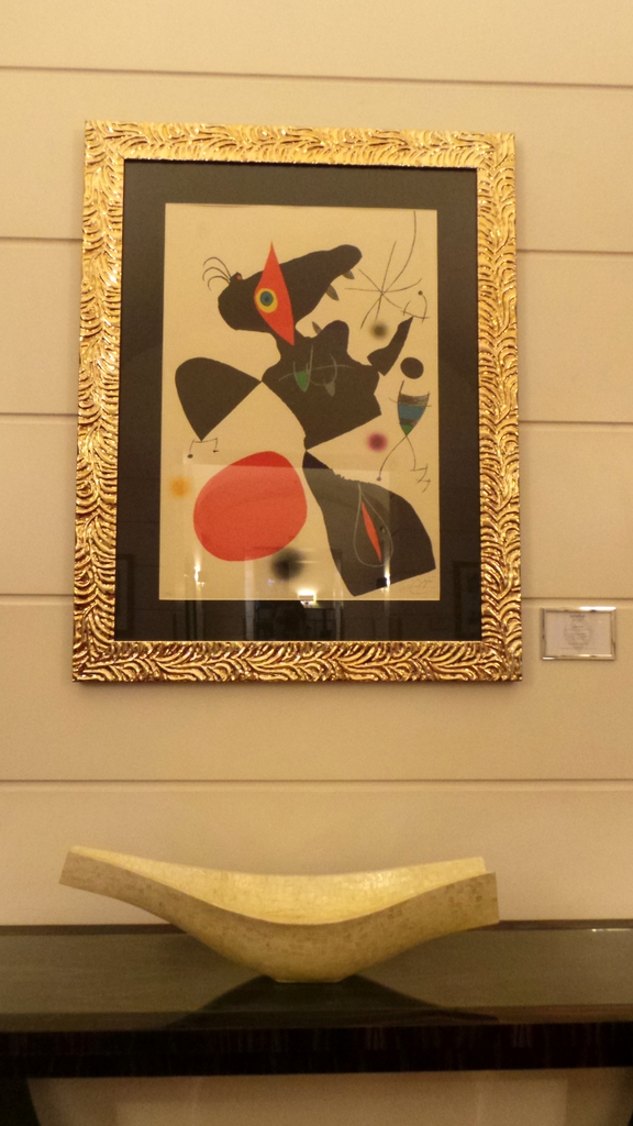 original pieces at the Jumeirah Grand Hotel Via Veneto Rome