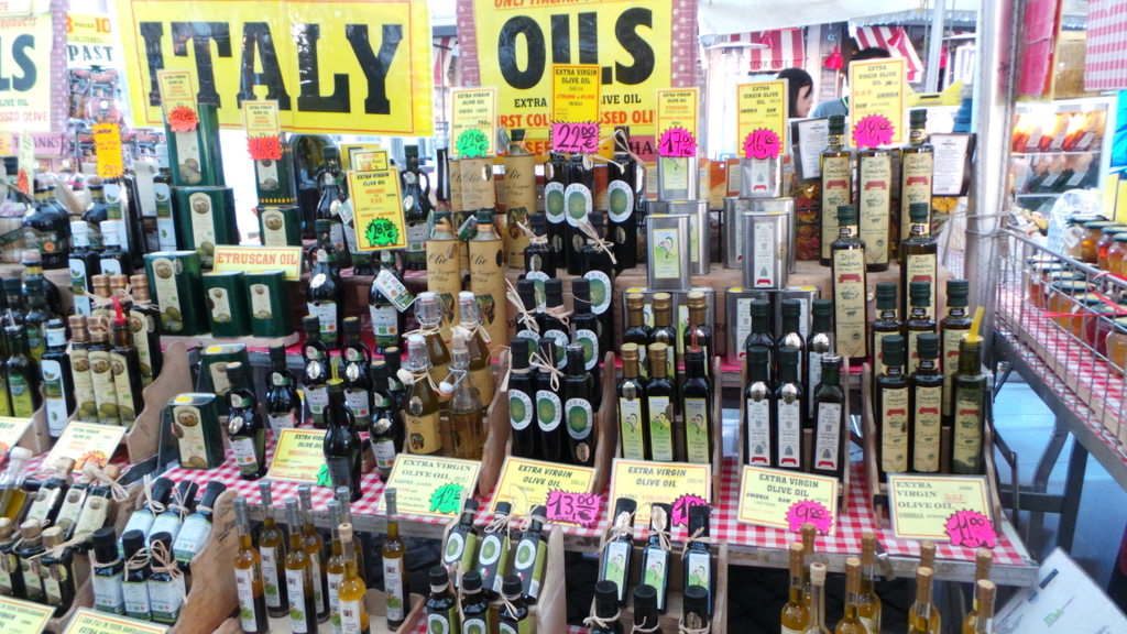 Olive Oil - all varieties! Walks of Italy's Rome Food Tour