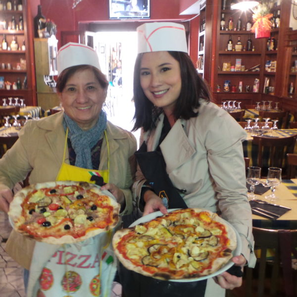 Food Tour in Rome and Pizza Making Class