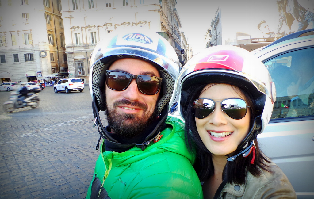 With Michele of Scooteroma tours