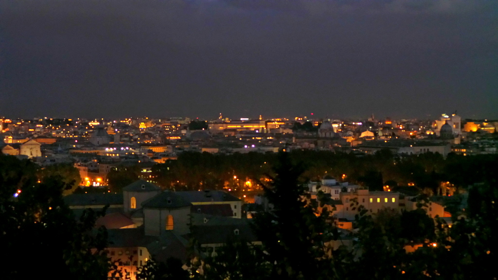 The Eternal City at Night
