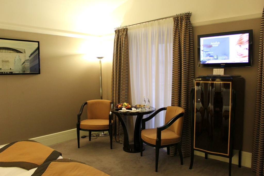 Deluxe Room at the Jumeirah Grand Hotel Via Veneto, Rome
