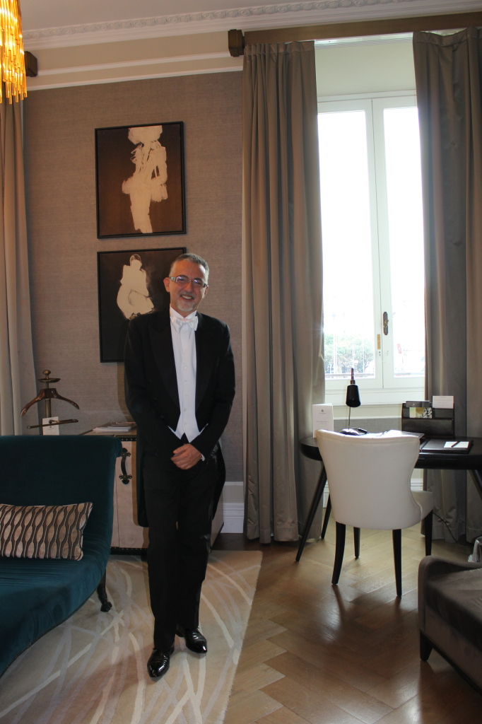 Our St.Regis Rome butler, the dashing Giovanni