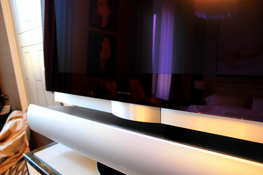 Bang & Olufsen Television at the Couture Studio of St Regis Rome