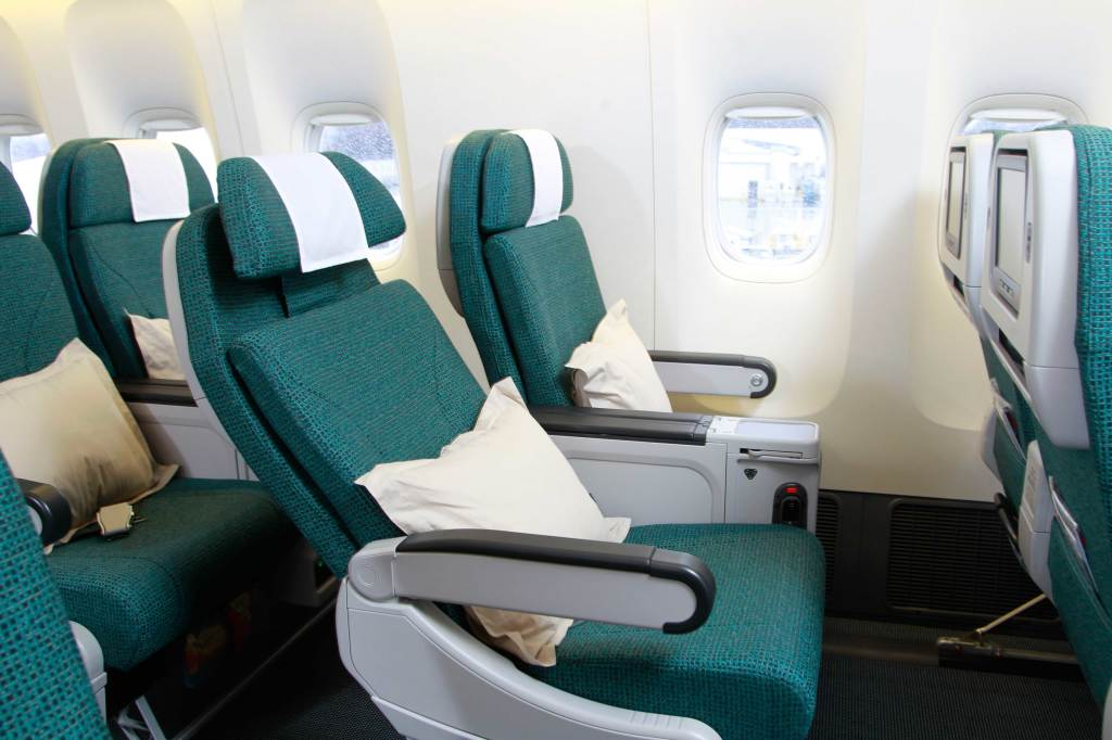 Flight Review Cathay Pacific Hong Kong To Rome In Premium
