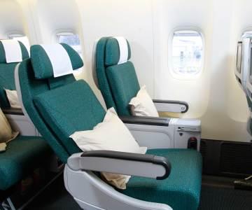 Cathay Pacific Premium Economy CX 293 Hong Kong to Rome
