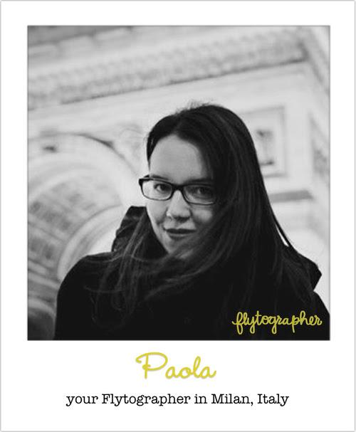 Paola, our fabulous Milan Flytographer photographer!