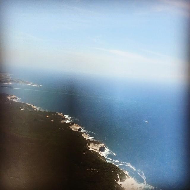 Flight back to Sydney