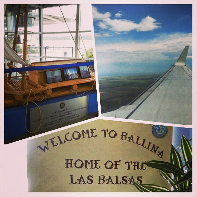 landing in Ballina