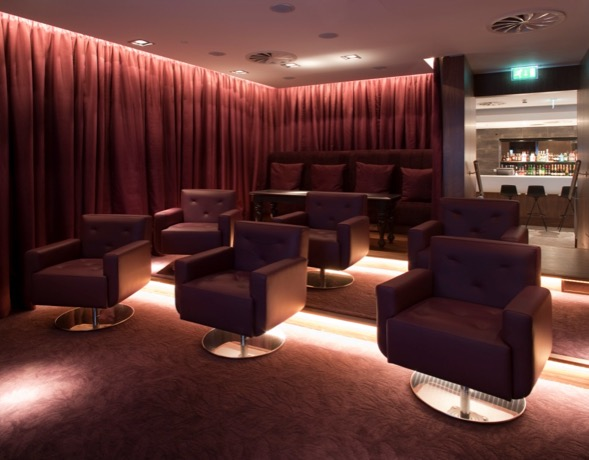 Cinema Room, No.1 Traveller Lounge at Heathrow Airport