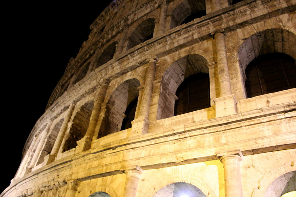 Visiting the Colosseum after dark with Walks of Italy