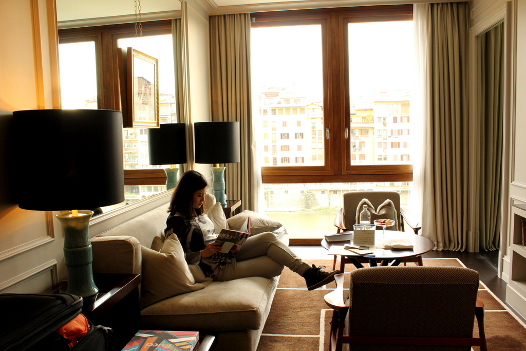 Luxury Suite at Portrait Firenze