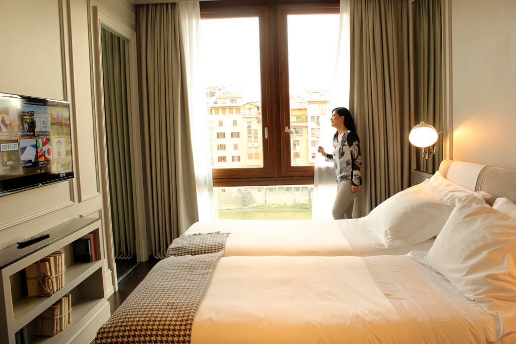Luxury Suite (Arno View)  at Portrait Firenze