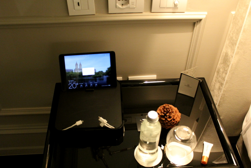 In-Room Ipad at Portrait Firenze