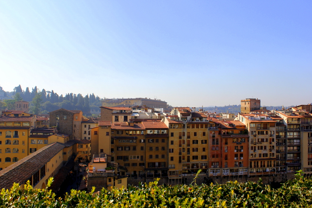 Overlooking Florence from Hotel Galery Art's Rooftop bar