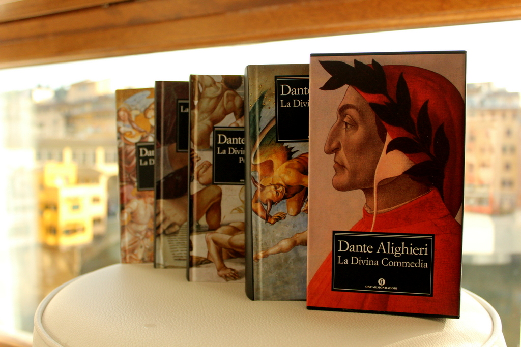 the entire set of the Divine Comedy