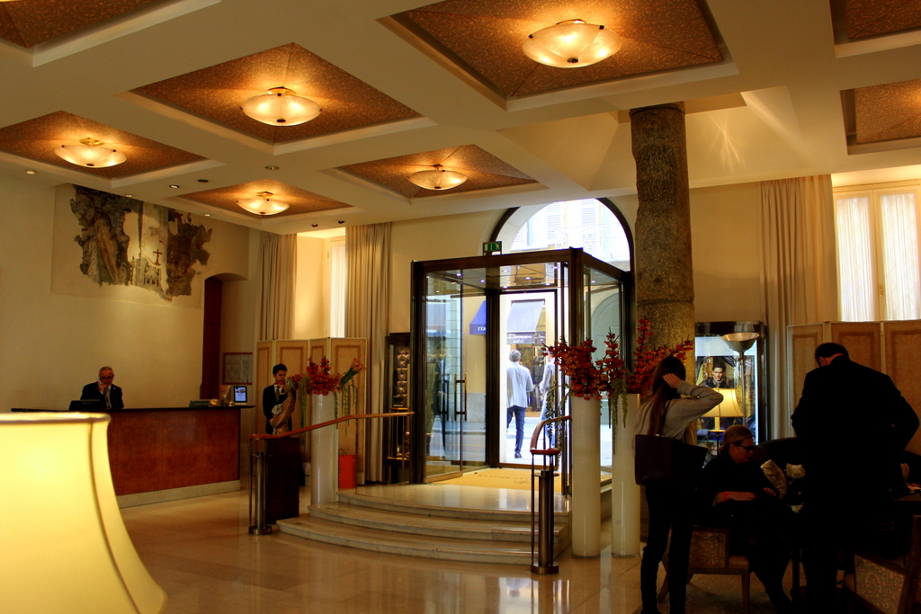 Lobby of Four Seasons Milano