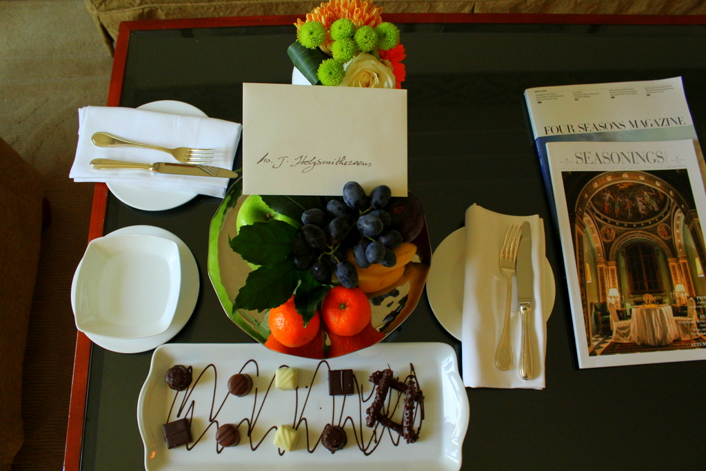 welcome amenity, Four Seasons Milano