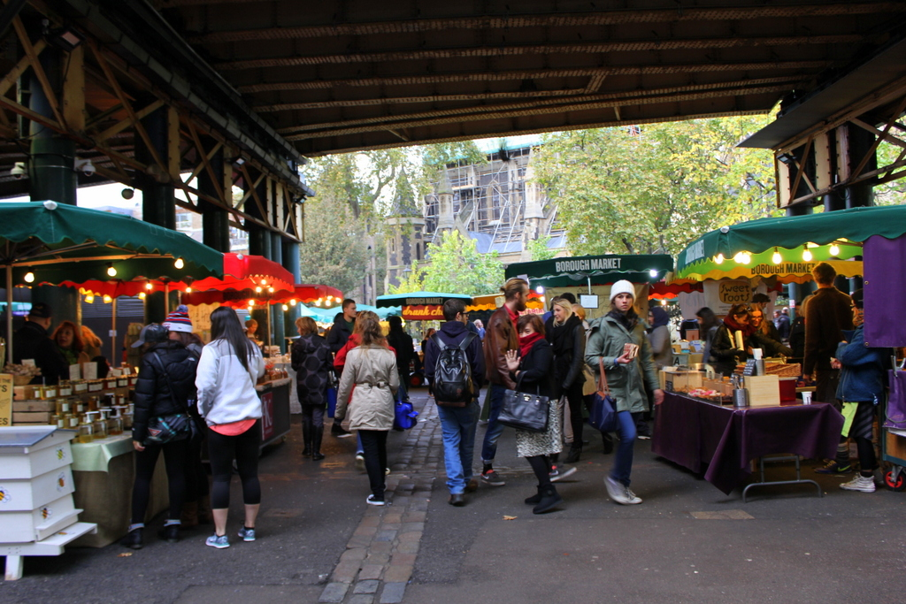 Borough Markets - 3 minutes' walk from Shangri-la at The Shard