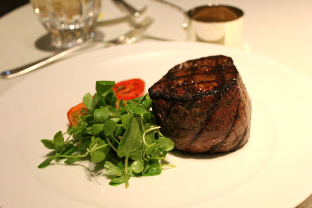 dining at TING Shangri-la Hotel at The Shard