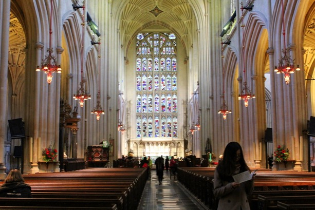 Bath Abbey: Not your ordinary Abbey!