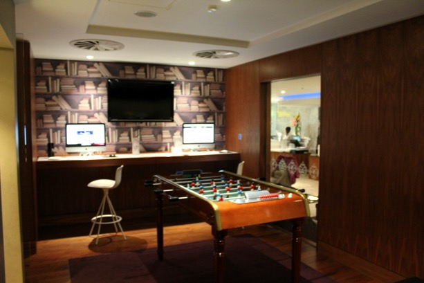 Games / Recreation room No.1 Traveller Lounge at Heathrow Airport