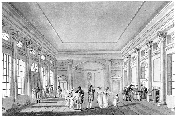 The Pump Room - illustration