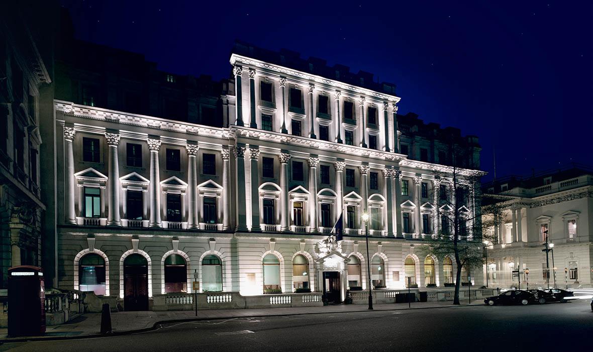Sofitel London St James, a  Grade II listed building